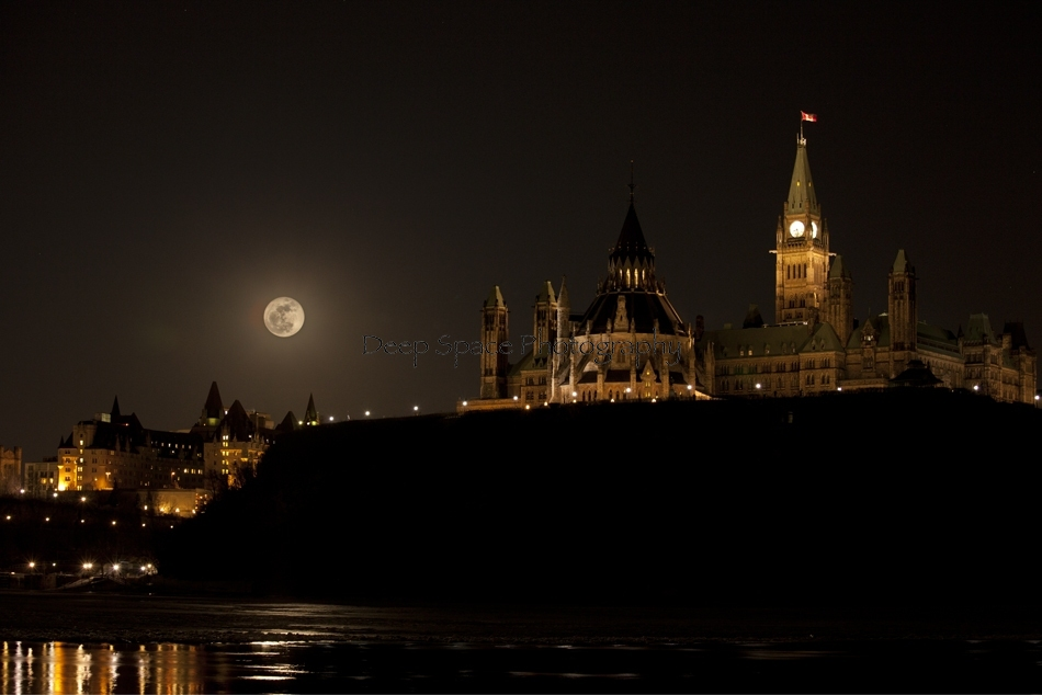 Supermoon - March 19th 2011