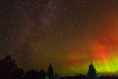 Milky Way & Auroras at Teeples Hill